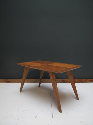 Table basse style reconstruction a n t i m a t i e r e for Table basse panier