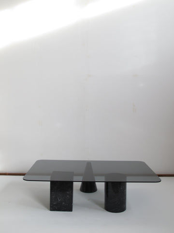 Vintage coffee table basse Massimo Vignelli design 1980 memphis sottsass nanda