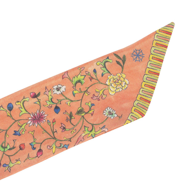 Arete Goods Blooms Silk Sash. Shop online peranakan inspired blooms sash made of silk twill printed in Como, Italy with a soft madder finish. Made in Singapore. International shipping.