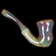 big glass Sherlock smoking pipe