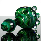experimental green honeycomb pipe