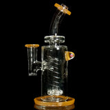 Bronx Glass Peach Dab Rig