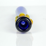 cobalt blue glass one hitter pipe