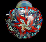 Wrap Raked Fumed Color Changing Hand Pipe by VisceralAntagonisM