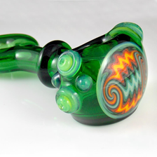 Green fire wig wag bowl