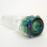 14mm ice poke wig wag bowl for glass bong waterpipe