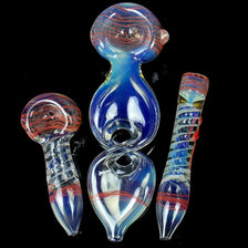 Color Changing Glass Pipes Gift Set