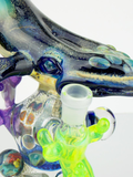 VisceralAntagonisM AMG collab glass humpback whale water pipe heady waterpipe