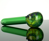 cheap green glass smoking pipe by VisceralAntagonisM