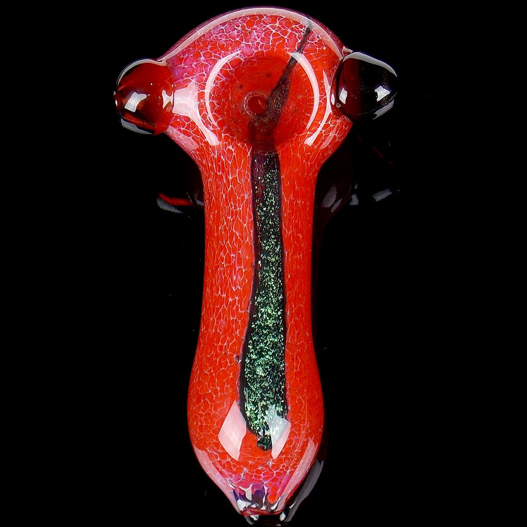 XL Red Frit Dichro Spoon