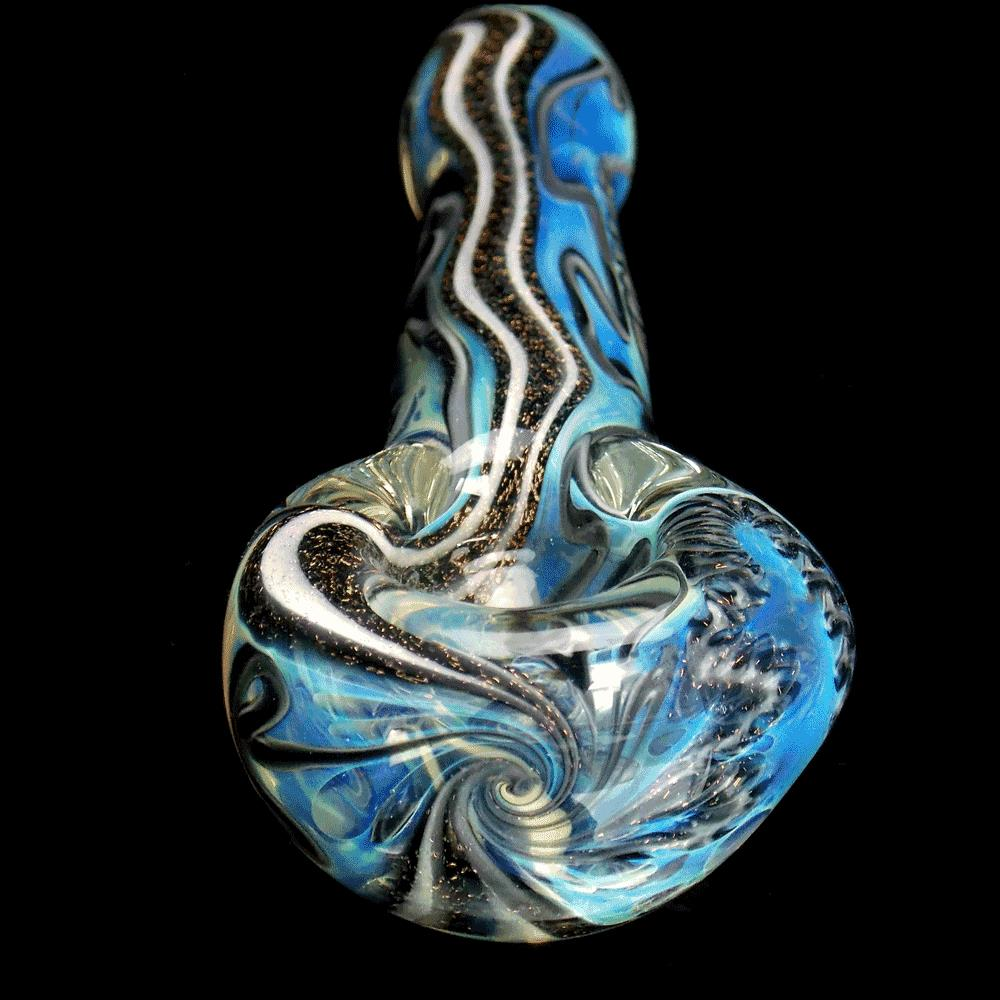 Black and White Dichro Pipe