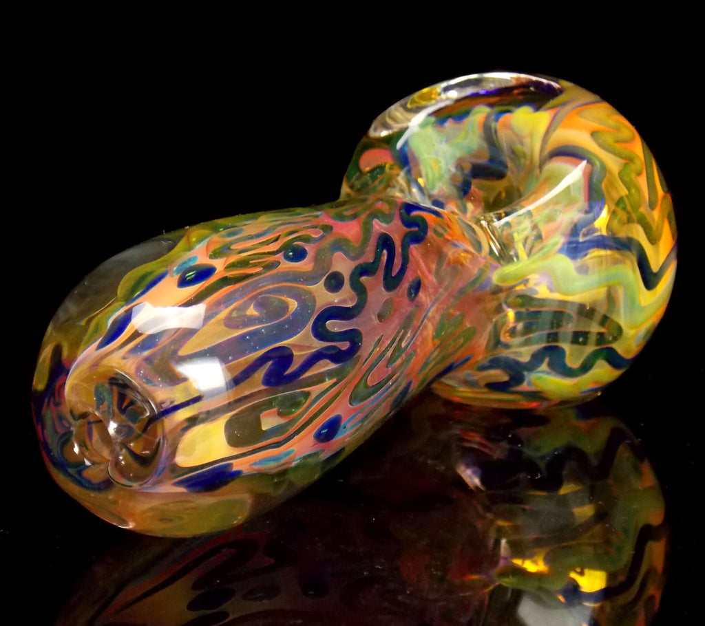 Unbreakable Fumed Glass Pipe