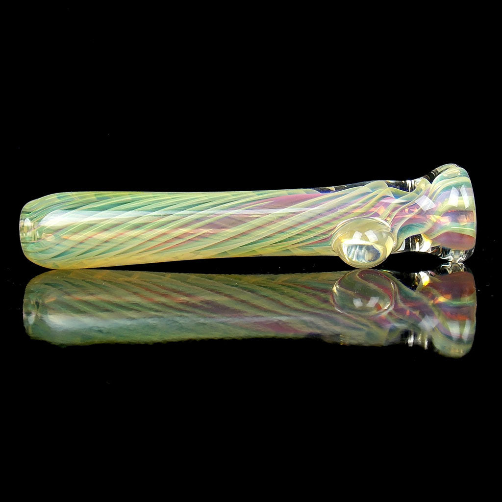 Double Fumed Spiral Chillum