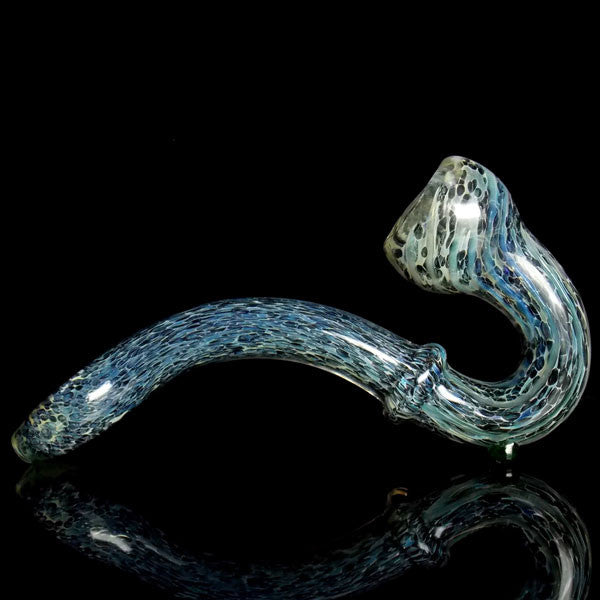 Galaxy Outer Space Glass Sherlock Pipe