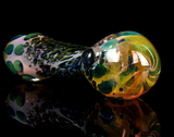 one of a kind color changing glass pipe