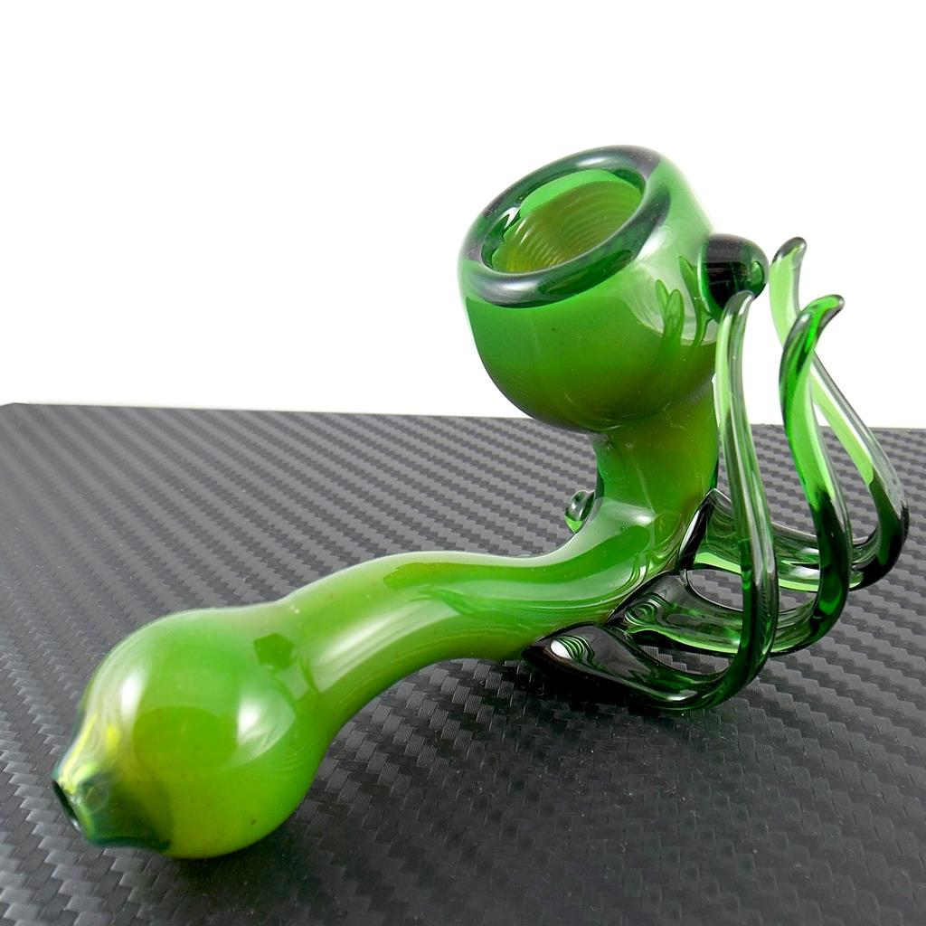 Green tentacle sherlock pipe