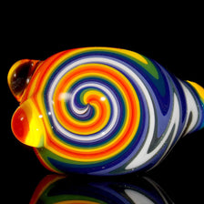 LSD rainbow glass smoking pipe