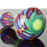 unique art glass pipe