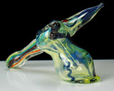 illuminati lucy glass bubbler pipe