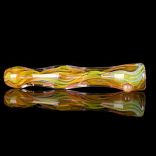 Color Changing Fumed Glass Smoking Pipe