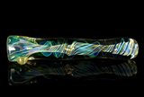 Large color changing fumed glass chillum