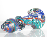cute colorful glass spoon pipe