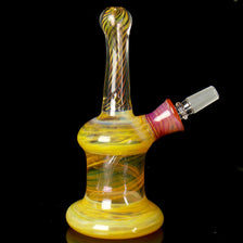 Fumed Glass Oil Rig