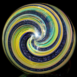Rainbow fumed dichroic spoon