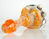 orange and rainbow wig wag pipe