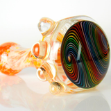 heady glass rainbow wig wag