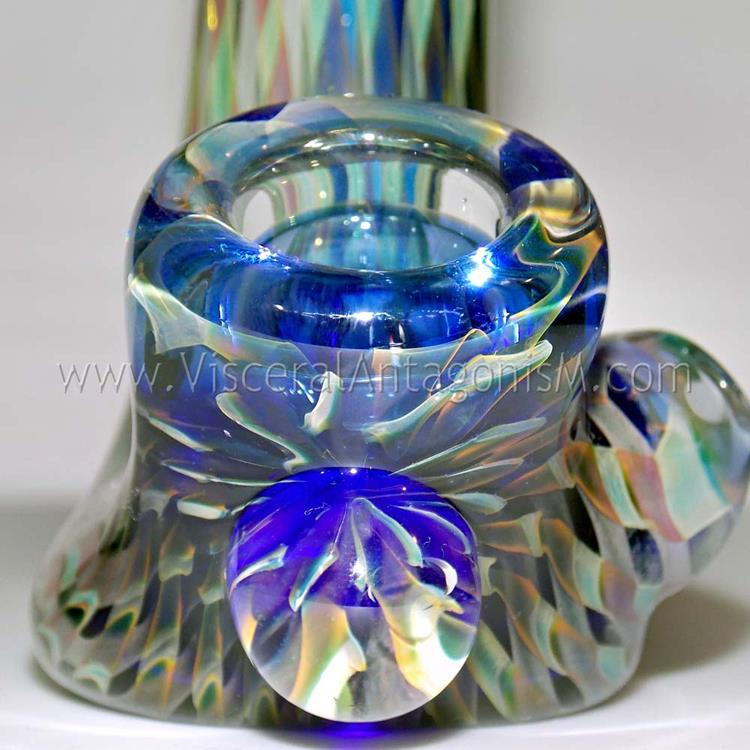 high end heady glass sherlock pipe