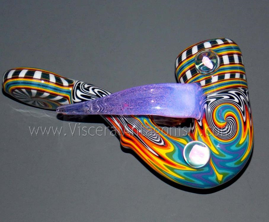 heady rainbow wig wag sherlock pipe