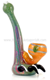 jungle green predator claw pipe by VisceralAntagonisM