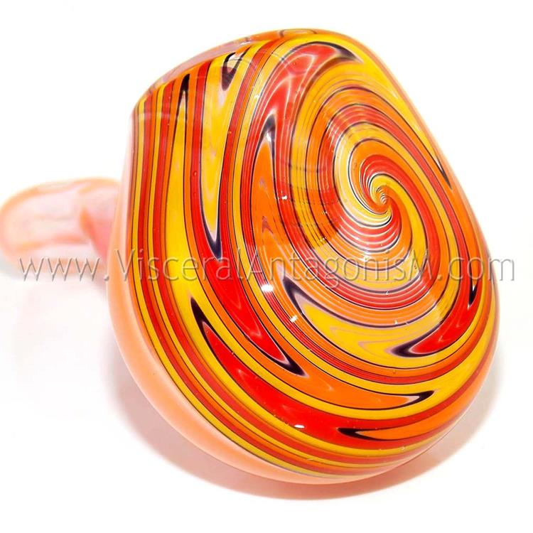 Incendiary Cyclone Fire Wig Wag Glass Sherlock