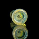 Silver fumed color changing chillum