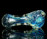 unbreakable silver fumed glass pipe