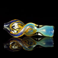 Twisted Glass Pipe