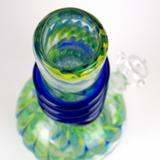 zig zag triple color water pipe bong by VisceralAntagonisM