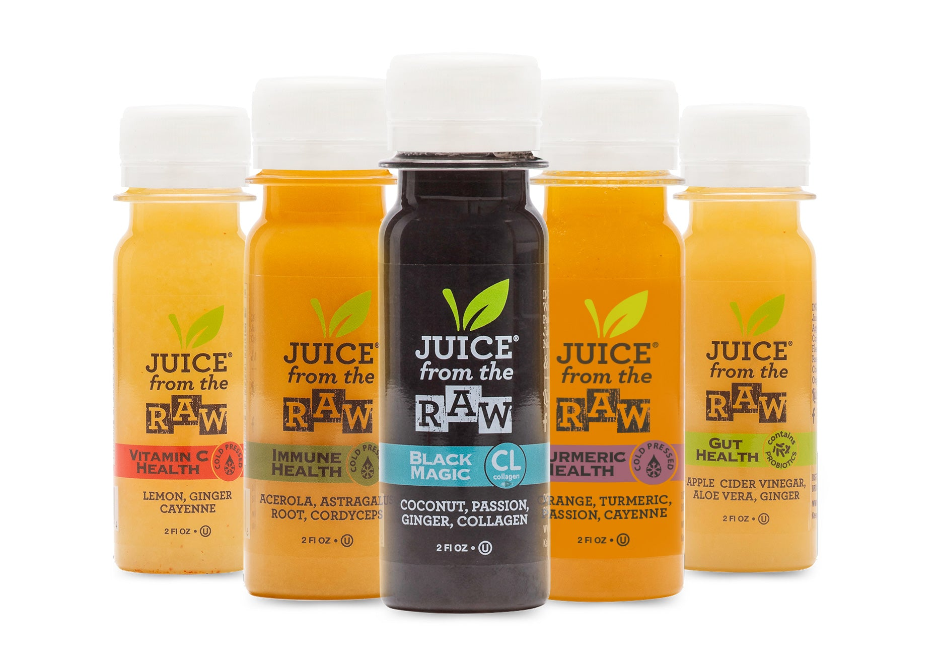 3-Day Juice Cleanse with Coconut Fusion + Shots