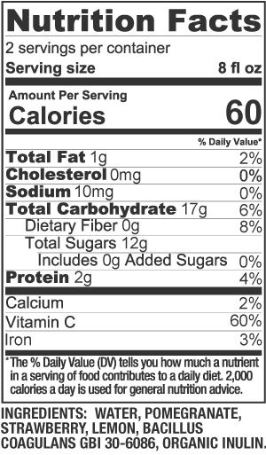 Skinny Shake Nutrition Facts