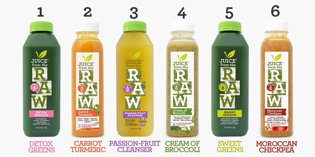 Juice Cleanse Instructions Juice From The Raw