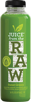 Sweet greens juice from Juice from the Raw