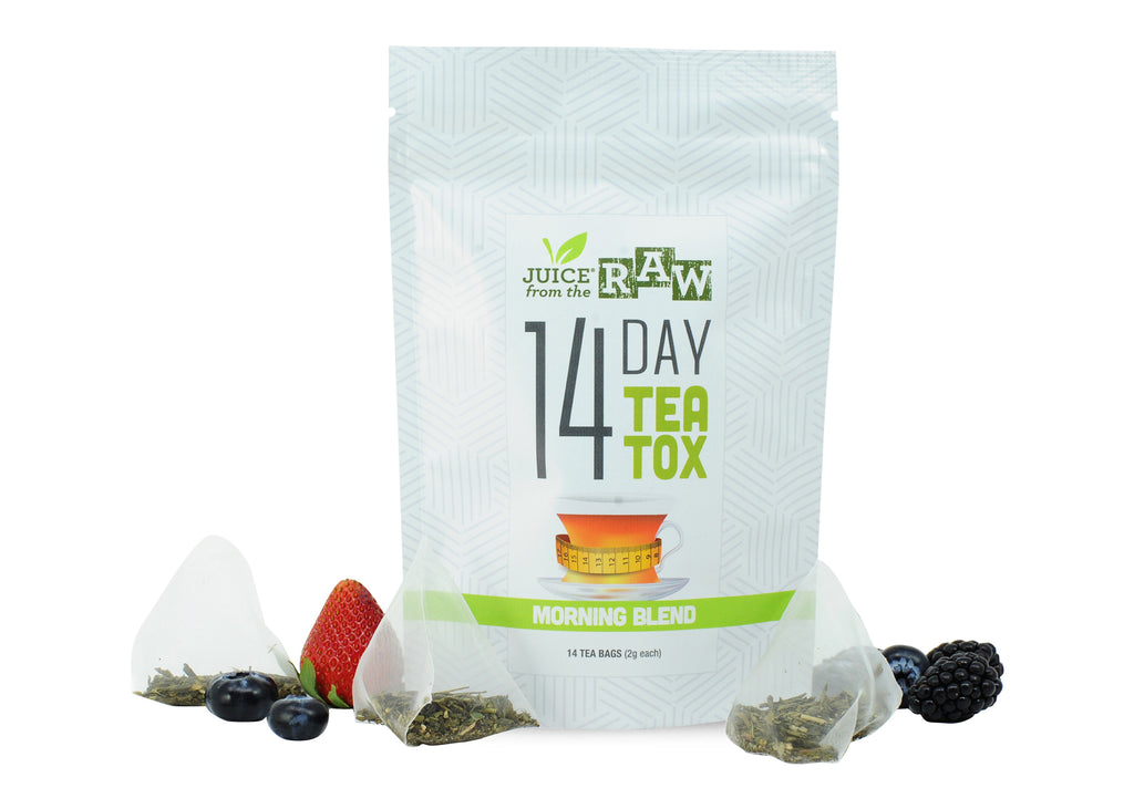 14 day morning blend tea cleanse