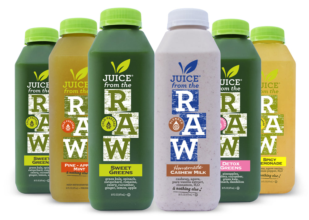 3 Day Cleansing | Cashew Milk | Juice From the RAW®