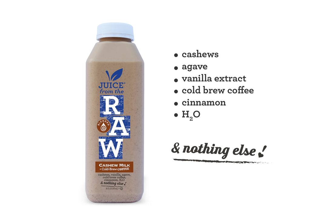 3-Day Cleanse with Cashew Coffee Milk and Probiotics