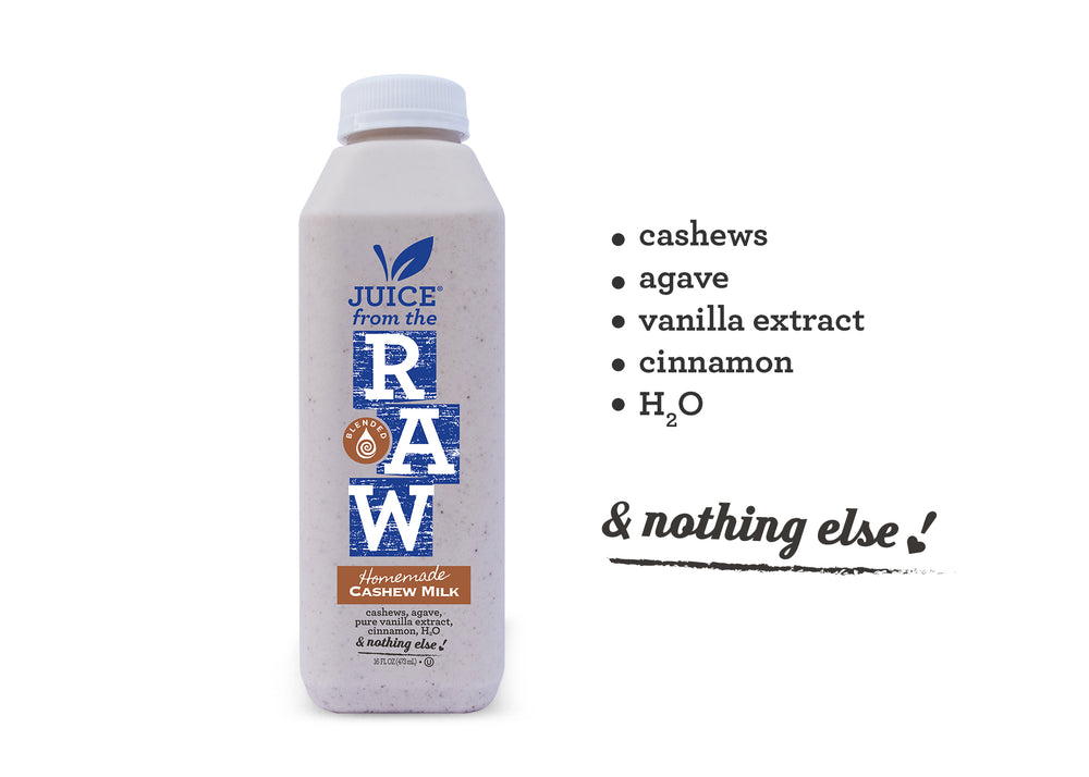 3 Day Believer Cleanse with Cashew Milk