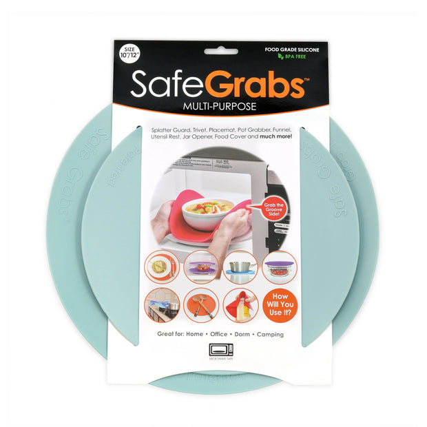 Safe Grabs: Silicone Microwave & Kitchen Mats | As Seen on Shark Tank