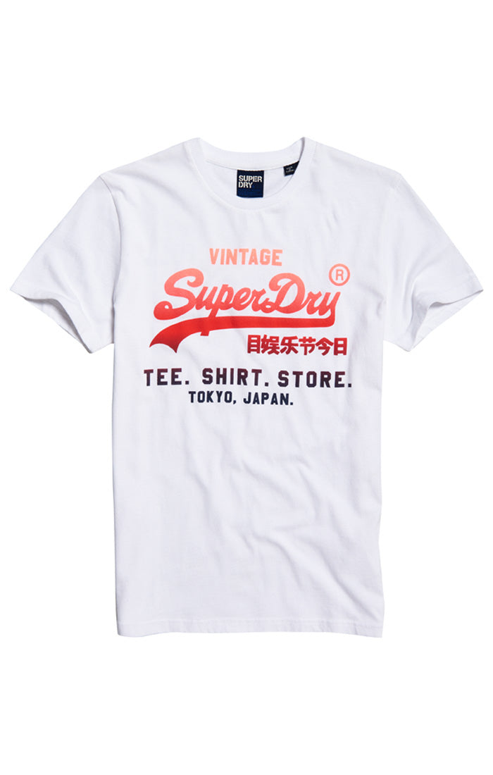 Superdry Mens Vintage Authentic Fade T-Shirt