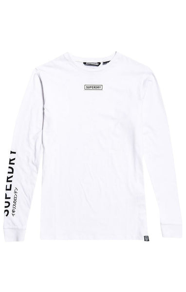 SKATE GRAPHIC LONG SLEEVE TOP