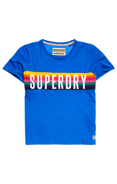 RAINBOW GRAPHIC T-SHIRT